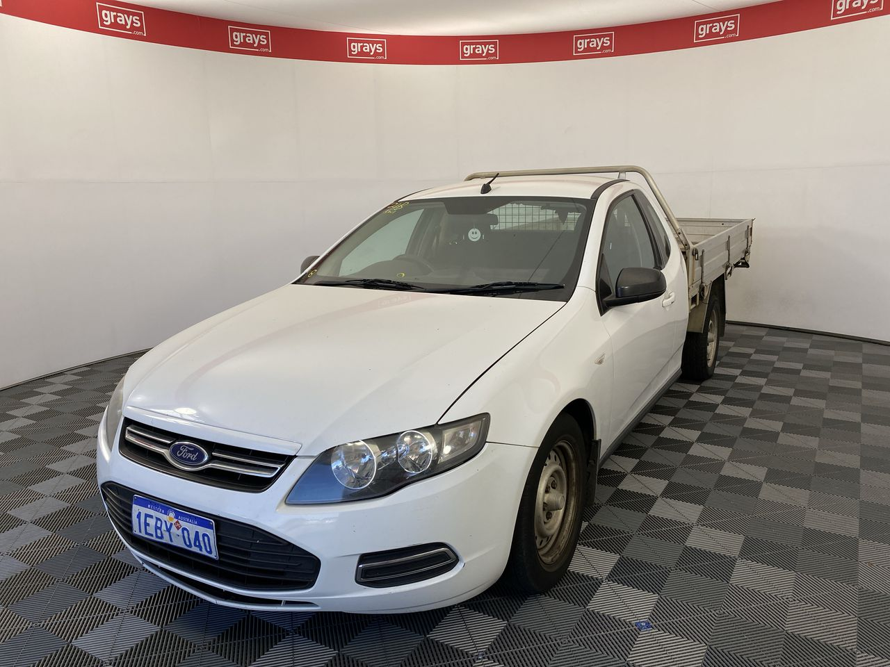 2012 Ford Falcon (LPI) FG II Automatic Cab Chassis