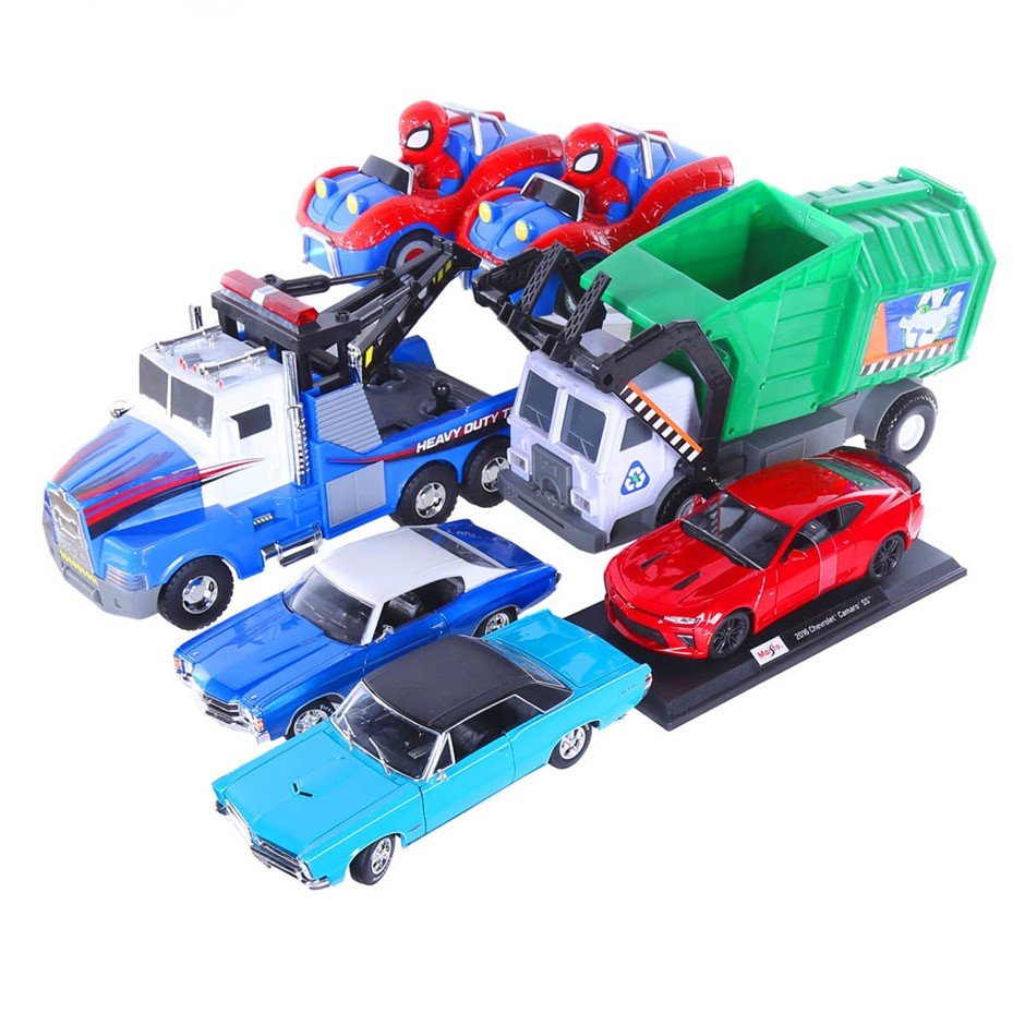 7 x Assorted Children`s Toy Cars & Trucks. N.B. Not in original boxes. (SN: