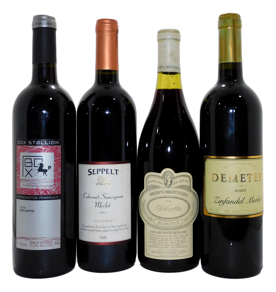 Mixed Pack of Victorian Red Wine (4x 750mL)