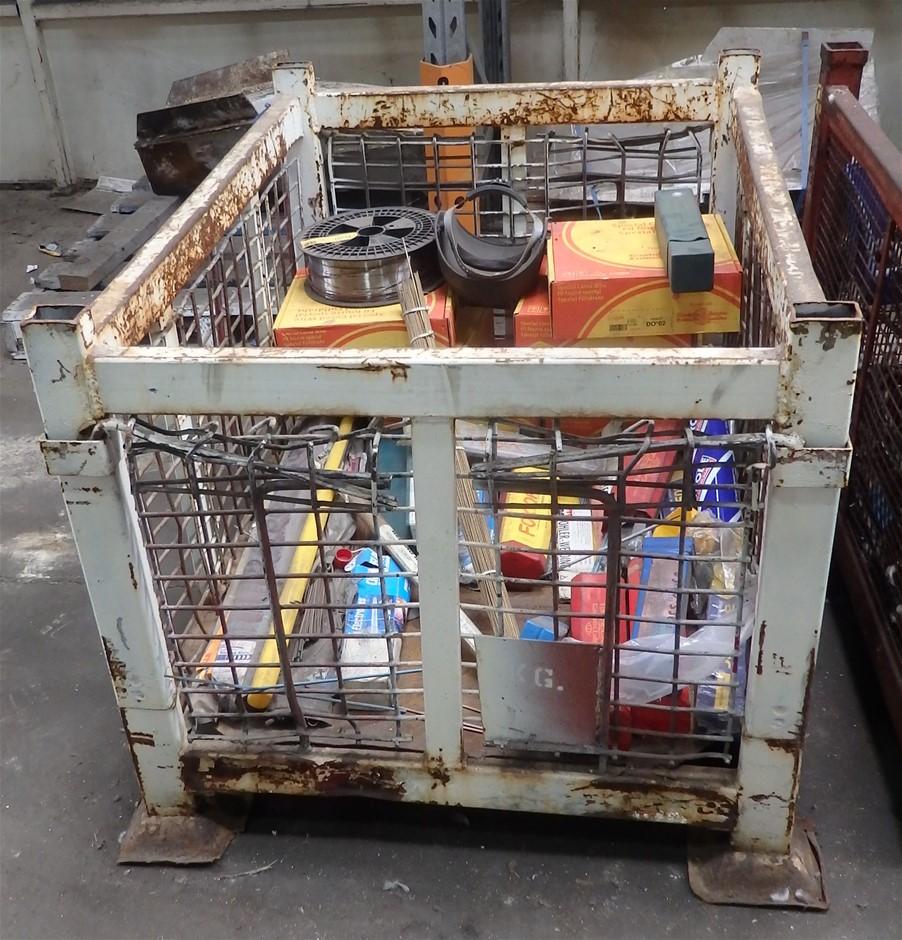 Steel Stillage & Contents (Welding Equipment)