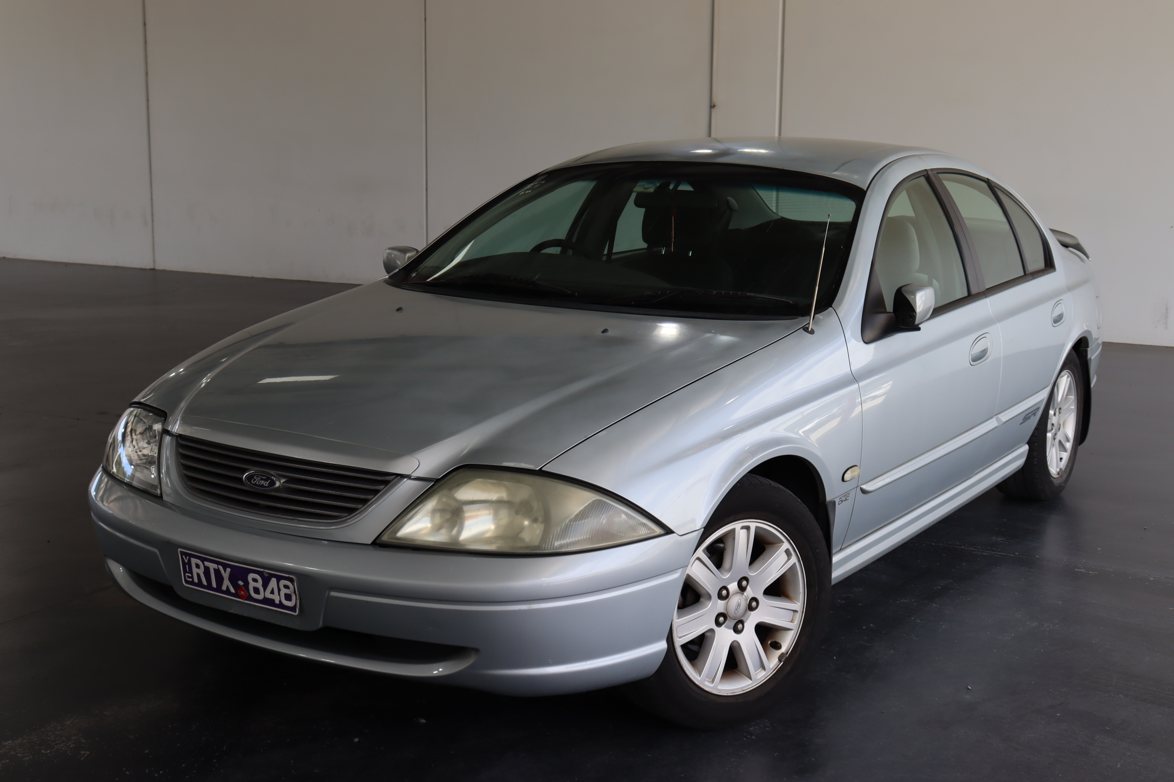 2002 Ford Falcon Forte AUIII Automatic Sedan