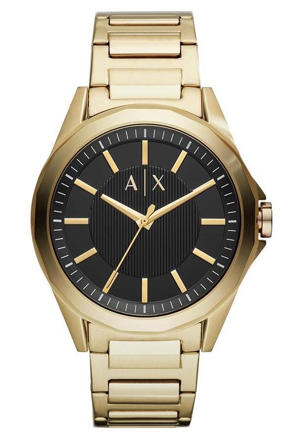Sophisticated new Armarni Exchange Men's Quartz watch.