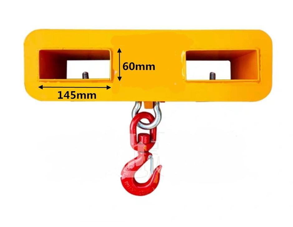 Folklift Hoist Swivel Hook 3T capacity lift