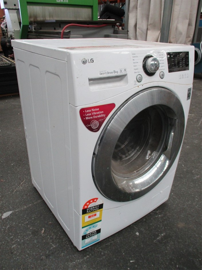 LG WD1408NPW 8kg Front Load Washing Machine