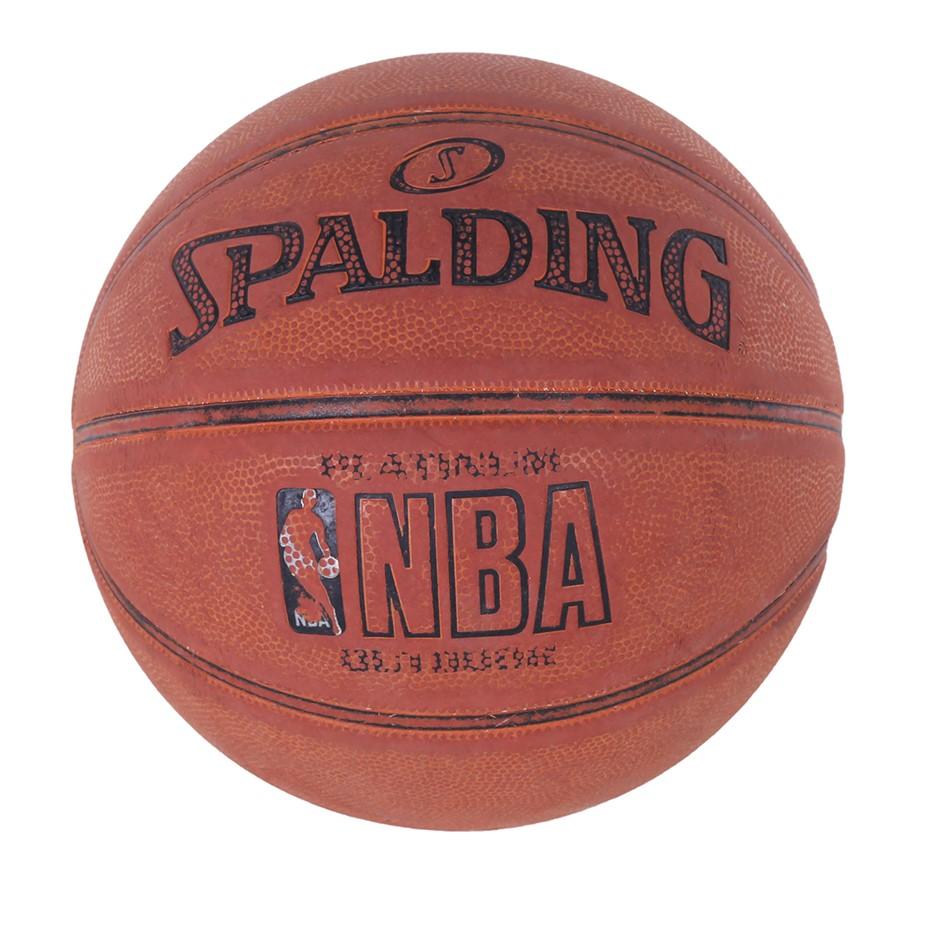SPALDING NBA Basketball. N.B. Used & worn out. (SN:CC71096) (278404-182)