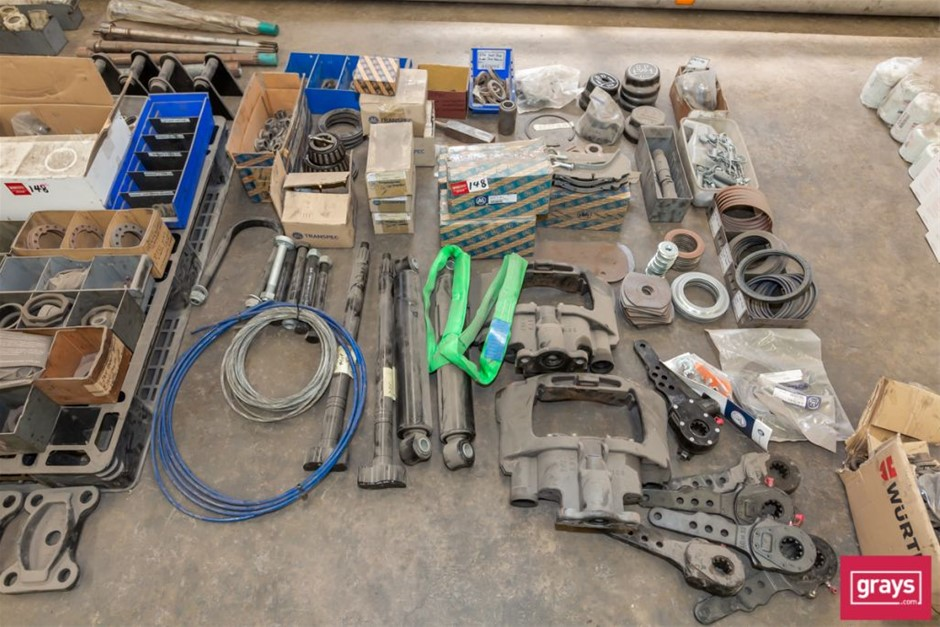 BPW Large Quantity of Assorted Trailer Spare Parts