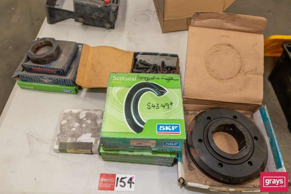 Assorted Truck & Machine Spare Parts