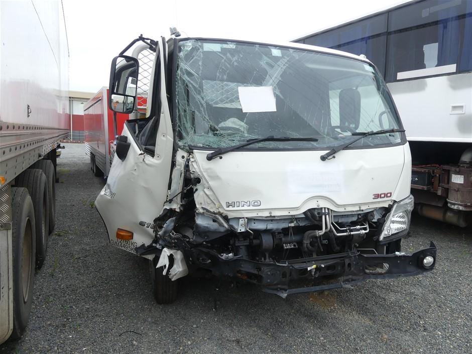 2018 Hino 300 4 x 2 Tray Body Truck