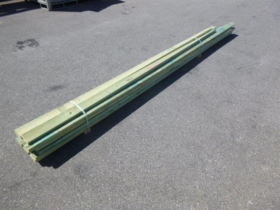 Bundle of Treated Pine
