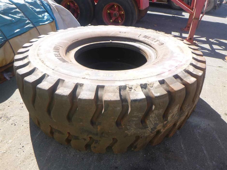 Heavy Machinery Tyre