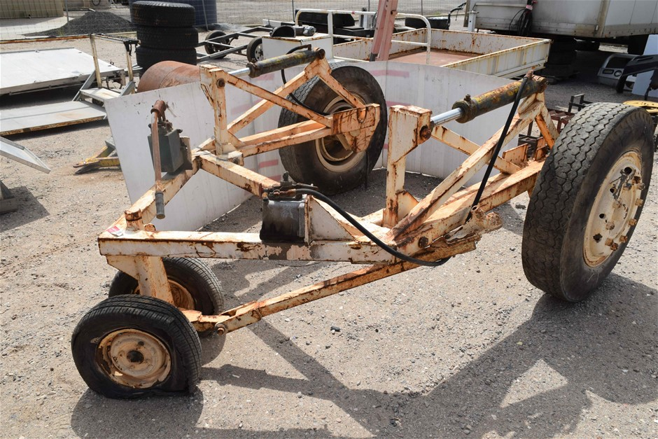 Custom Built Cable Laying Trailer