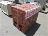 100 x Packs of Heavy Duty Red Paver Bricks