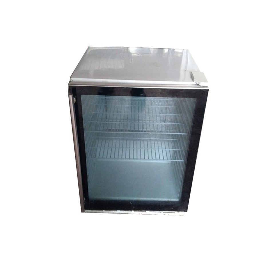 Single Glass Display Bar Fridge