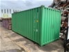 20-Feet Green Shipping Container