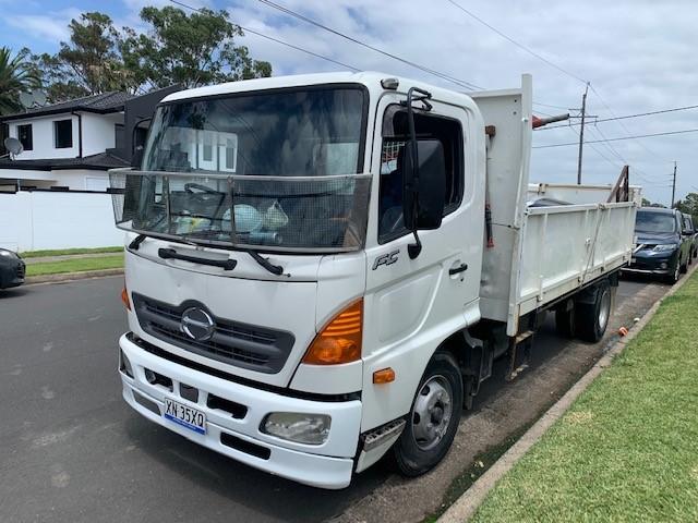 2003 Hino FC4J SER C/CAB Tipper Truck