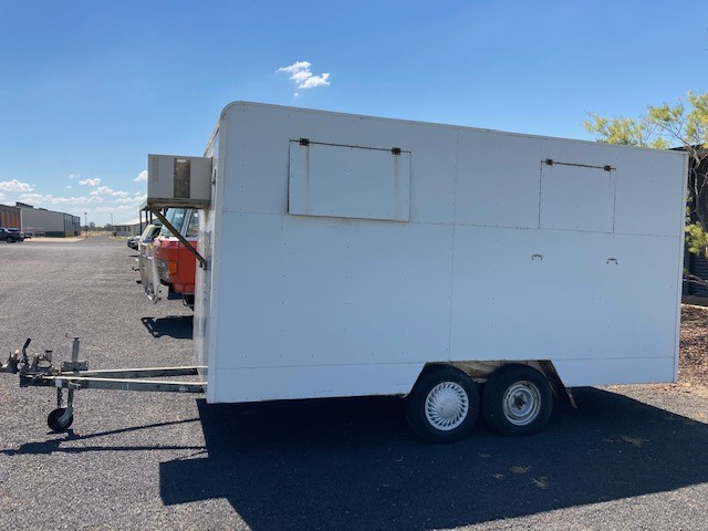 Dual Axle Enclosed Trailer