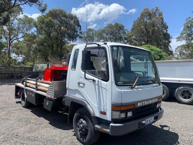 2008 Mitsubishi FK60 Concreate Pump Truck