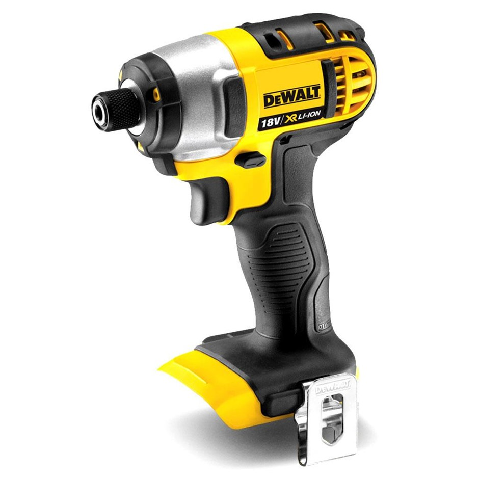 DEWALT 18V Compact Impact Driver Drill. Skin Only. Buyers Note - Discount F