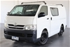 2007 Toyota Hiace LWB TRH201R Manual Van