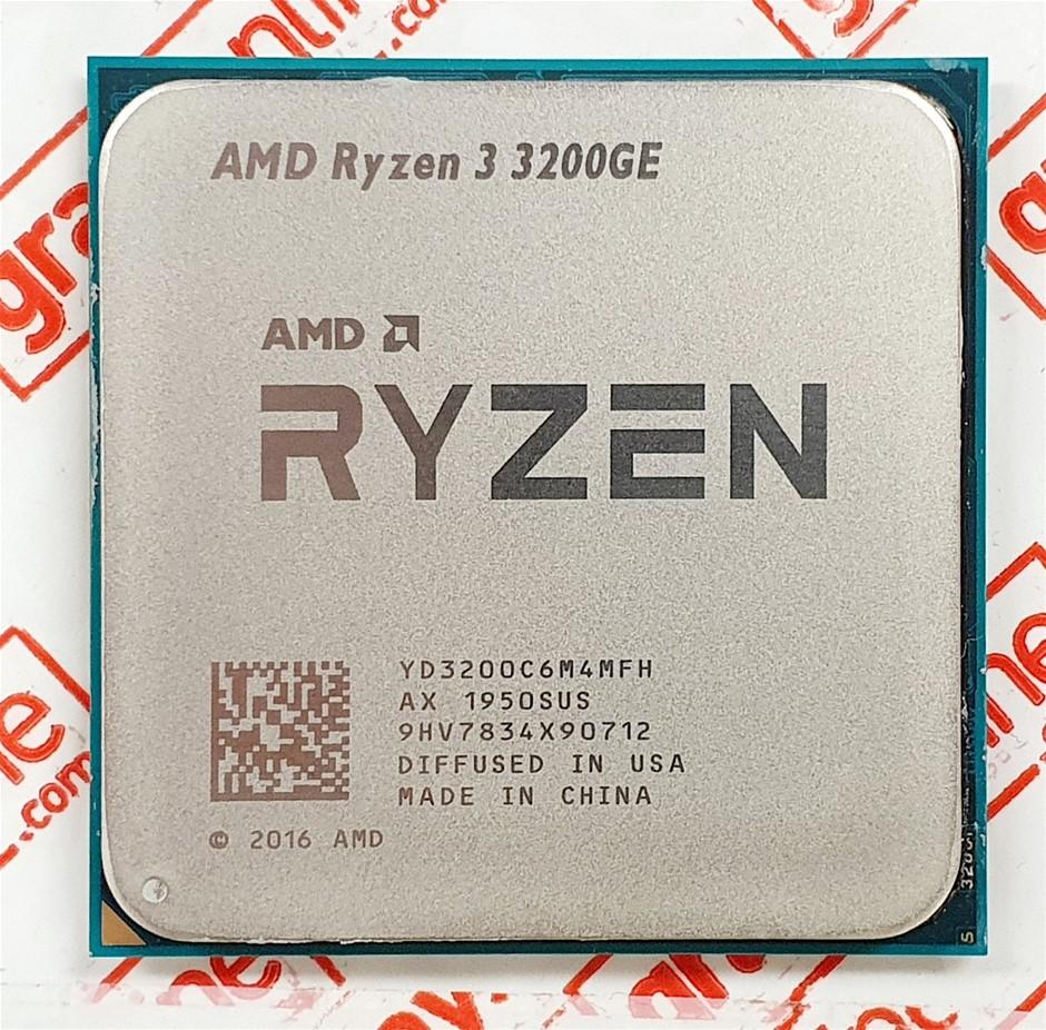 AMD Ryzen 3 3200GE 3.3GHz 4-Cores AMD Ryzen™ Desktop Processor
