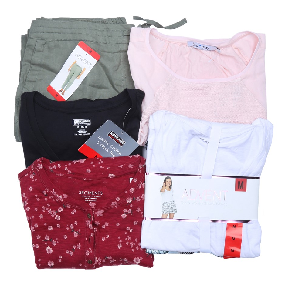 5 x Mixed Women`s Clothing, Comprised: ADVENT, PUMA & More, Size M. Buyers