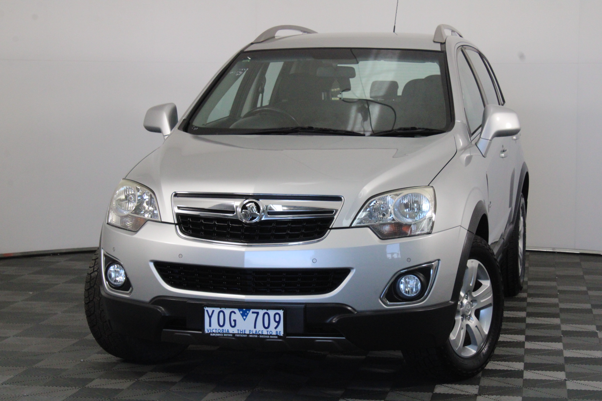 2011 Holden Captiva 5 (FWD) CG II Manual Wagon