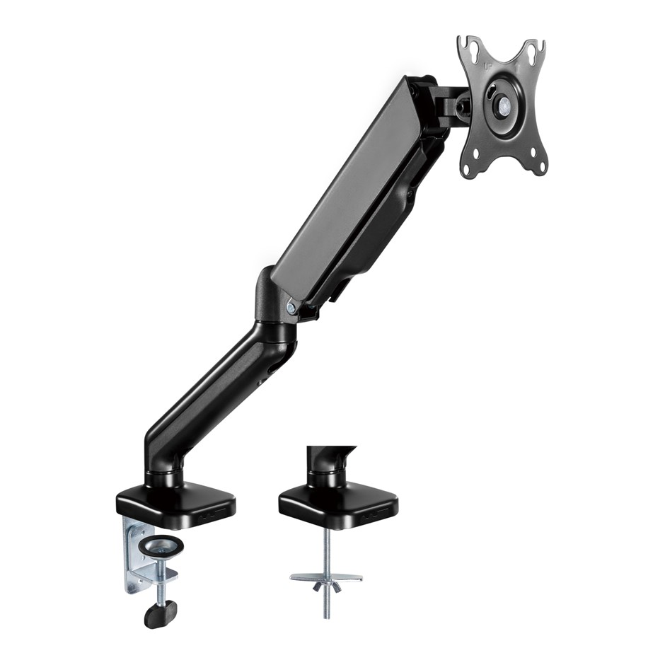 activiva ErgoLife Single Monitor Screen Steel Gas Spring Monitor Arm
