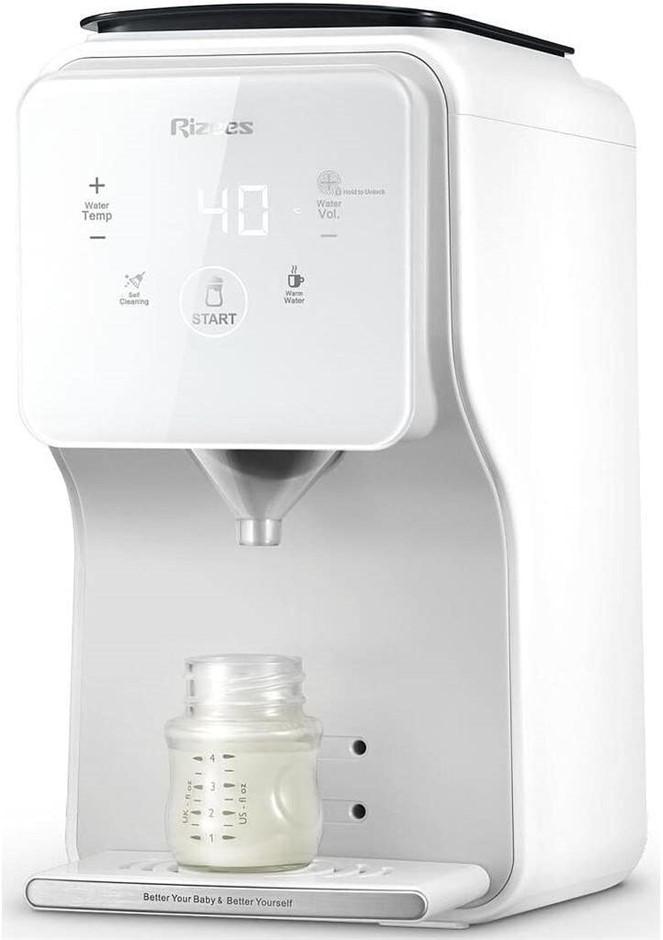 RiZEES-Smart Formula Pro Baby Formula Dispenser Thermostat Auto Milking, Gr