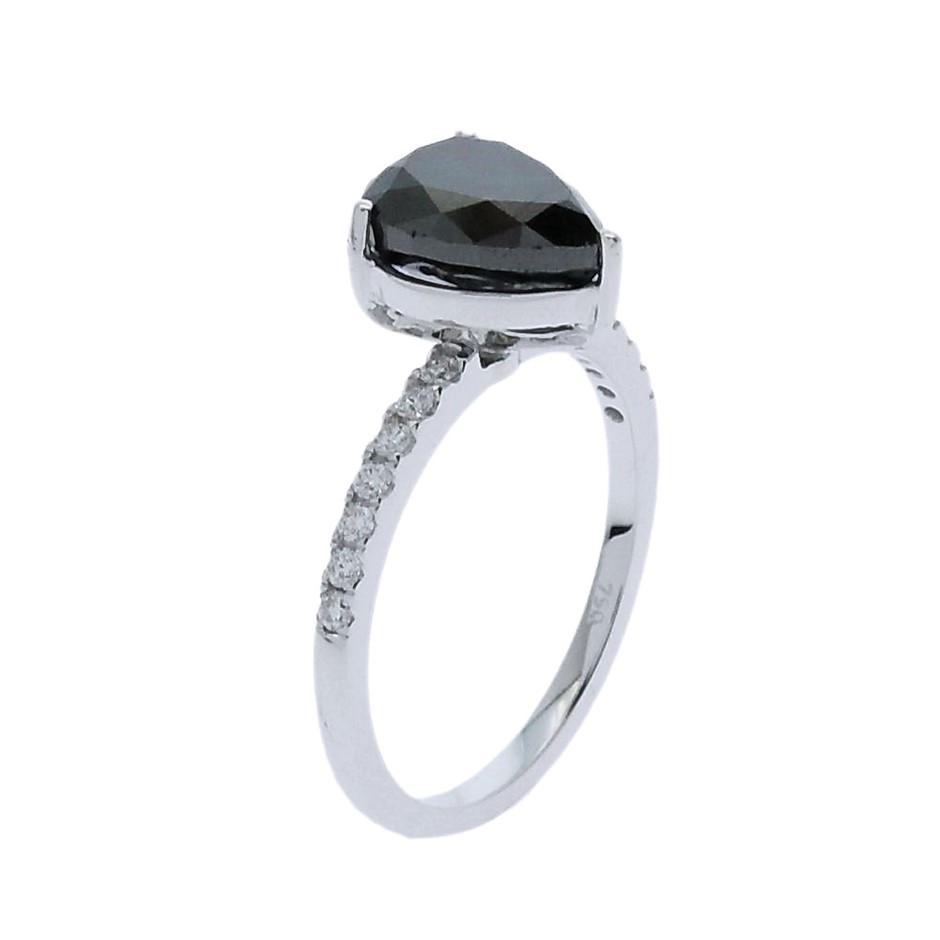 18ct White Gold, 2.89ct Diamond Engagement Ring