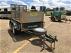 <p>2018 Trailers 2000 T6L9 Tandem Box Trailer with Ramp</p>