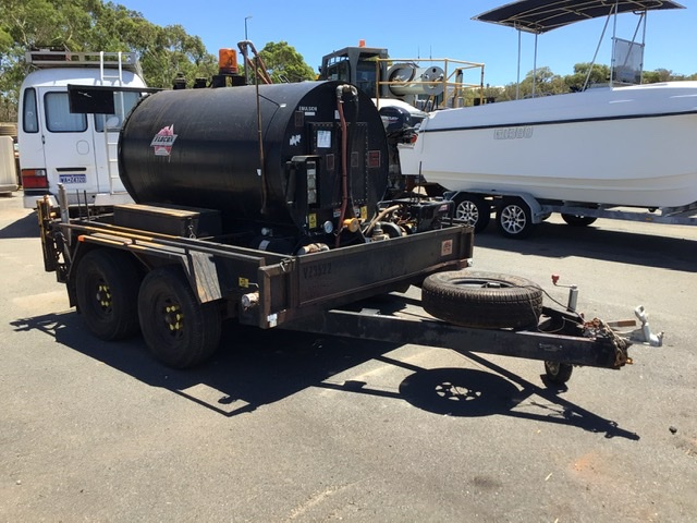 2015 Custom Built Bitumen Tanker Trailer