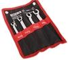YATO 4pc Flare Nut Wrench Set, Sizes: 8x10, 11x12, 13x14 & 15x17mm, Cr-V. B