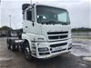 <p>2013 Mitsubish FV500 Automatic 6 x 4 Prime Mover </p>