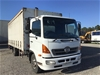 <p>2008 Hino  FC 4 x 2 Curtainsider Rigid Truck</p>