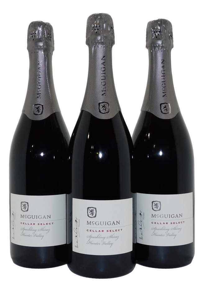 McGuigan Cellar Select Sparkling Shiraz NV (3x 750mL), Hunter Valley