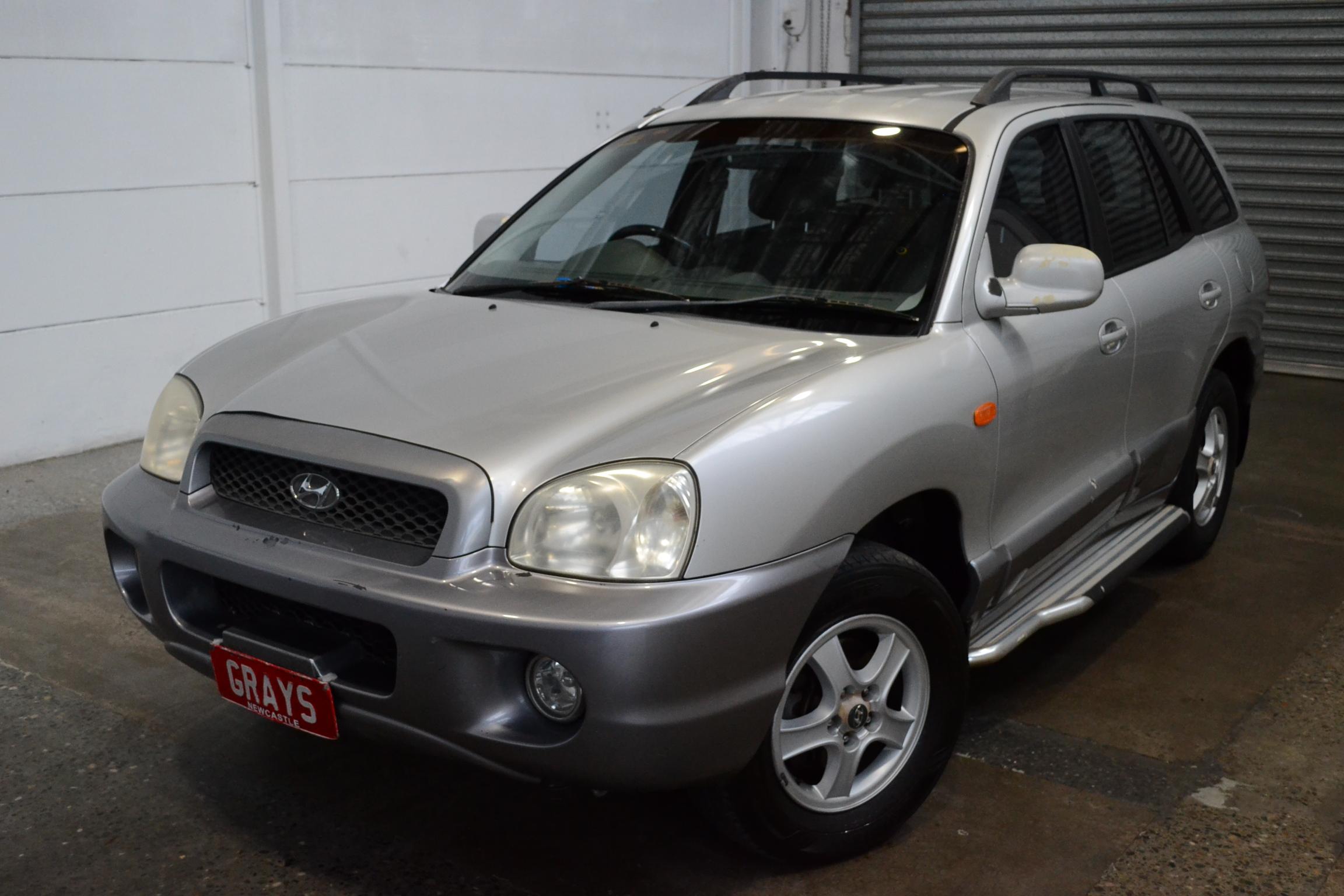 2003 Hyundai Santa Fe GLS (4x4) Automatic Wagon
