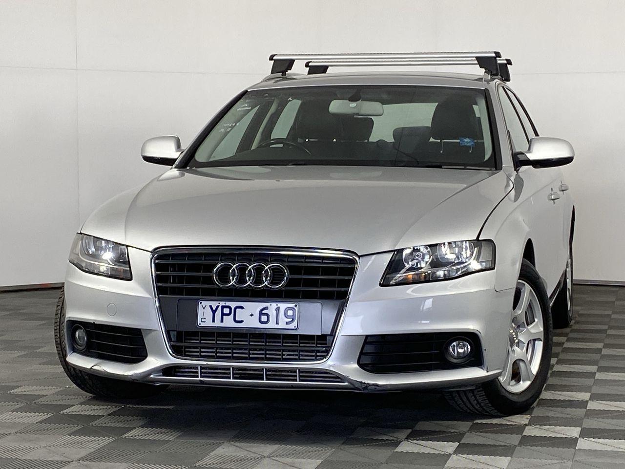 2011 Audi A4 1.8 TFSI Avant B8 CVT Wagon