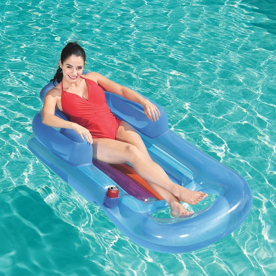 Bestway Inflatable Floating Float Floaty Lounger Toy Pool Bed Seat Play