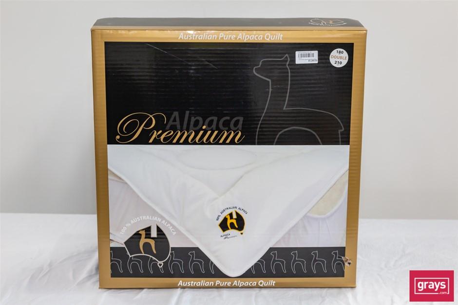 Zenger Alpaca Premium Bedding Double Size Pure Alpaca Quilt