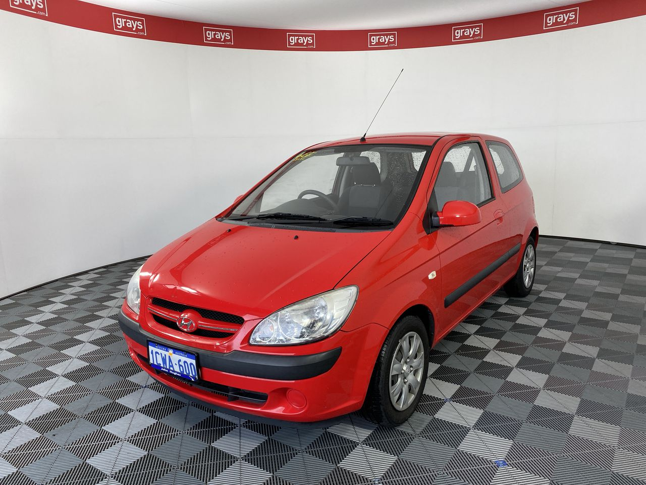 2008 Hyundai Getz S TB Manual Hatchback