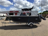 2010 Quintrex 550 with 115HP Mercury on Quintrex Trailer