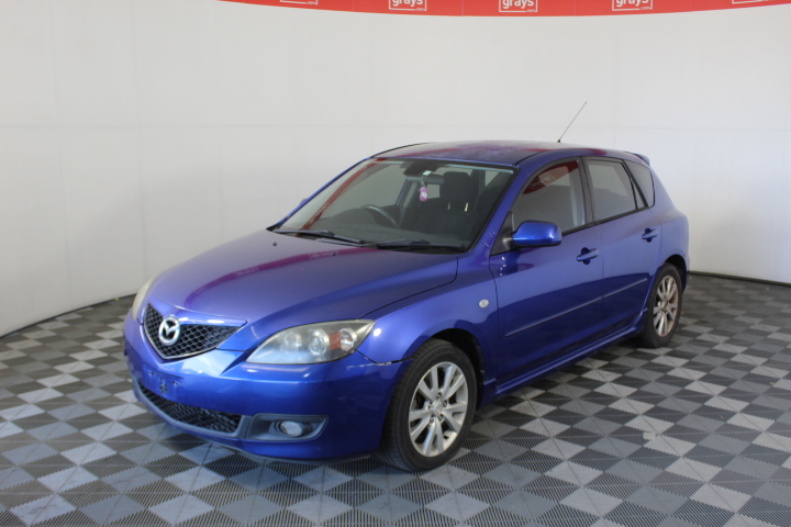2007 Mazda 3 Maxx Sport BK Automatic Hatchback