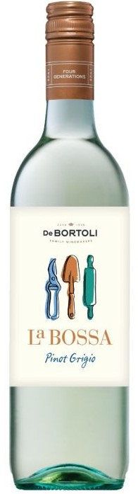De Bortoli `La Bossa` Pinot Grigio 2020 (6 x 750mL), Riverina, NSW.