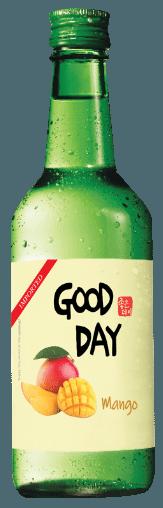 Good Day Mango Soju (20x 360mL). Japan