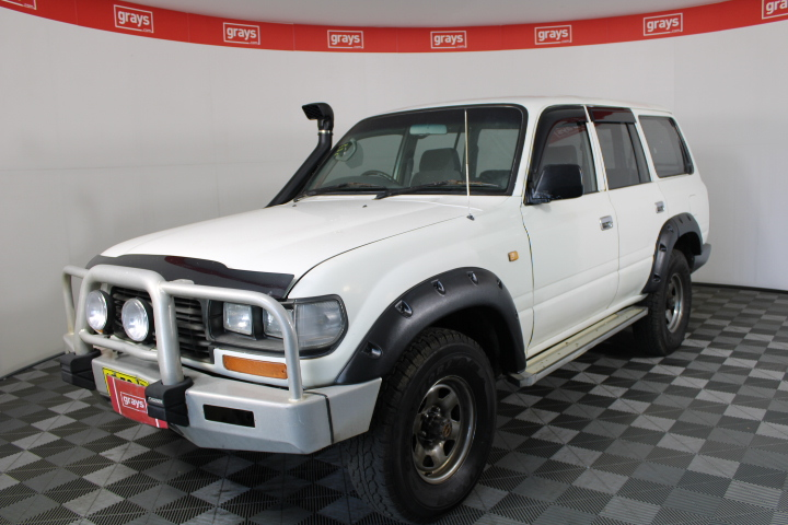 1997 Toyota Landcruiser (4x4) HZJ80 Manual Wagon