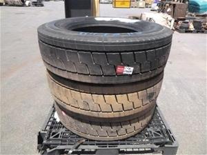 3x Michelin Heavy Duty Tyres