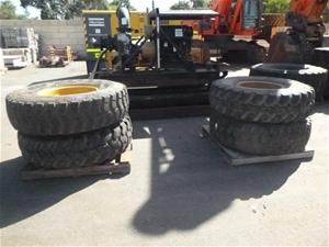 4x Tyres on Rims