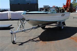 Boat Quintrex 4.4m Aluminium Seaman Hull