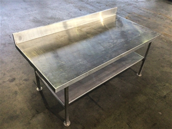 Stainless Steel Storage Bench