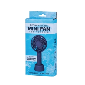 Mini USB Rechargeable Portable Fan with